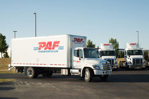 PAF Box Trucks
